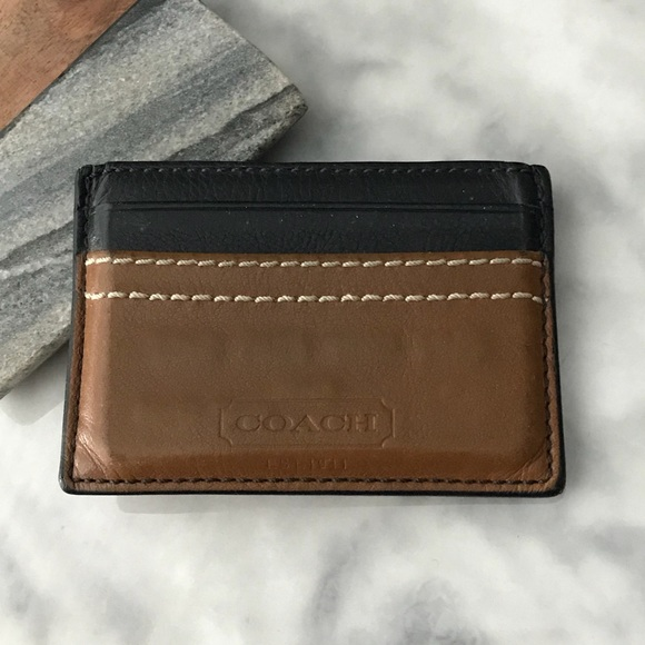 30e0dfdbd21f5 Coach Other - Men s Coach Card Holder Leather Wallet